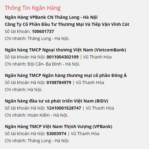 Thông tin chuyển tiền Việt sang tiền USD