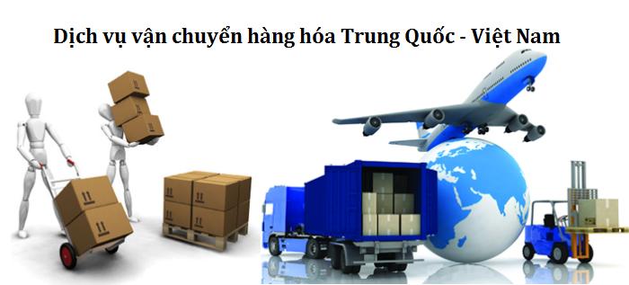 vận chuyển hàng hóa trung quốc về việt nam