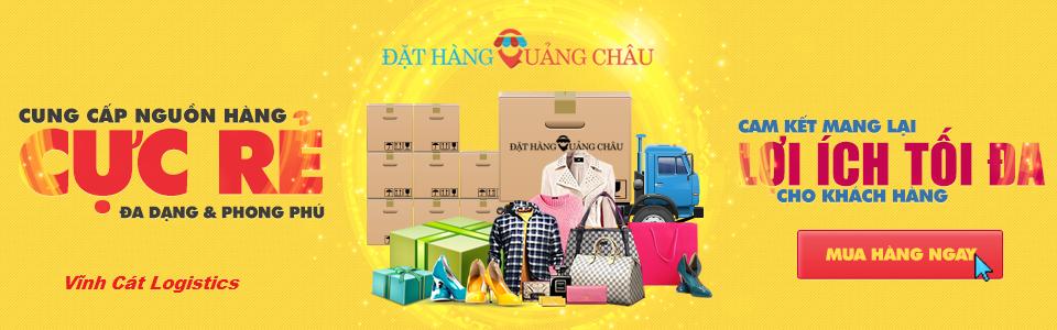 Đặt hàng Trung Quốc tại Vĩnh Cát Logistics