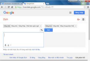 Sử dụng google dịch tìm từ khóa mua hàng Trung Quốc