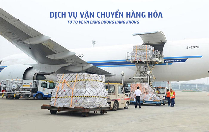 vận chuyển hàng trung quốc bằng đường hàng không