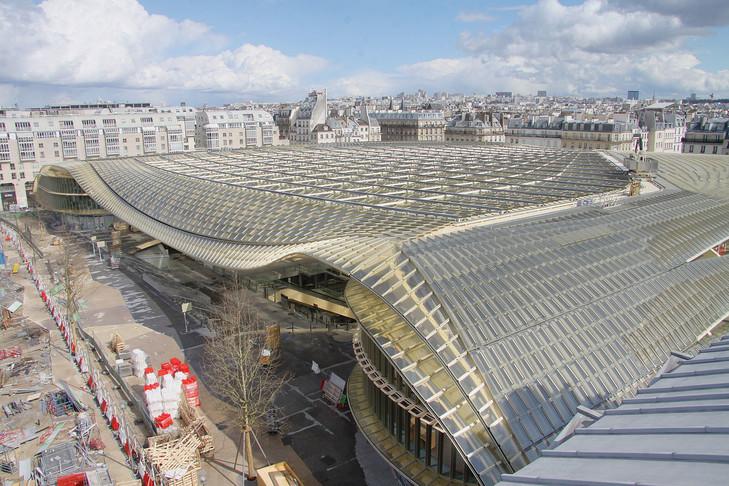 .Khu trung tâm mua sắm Le Forum des Halles
