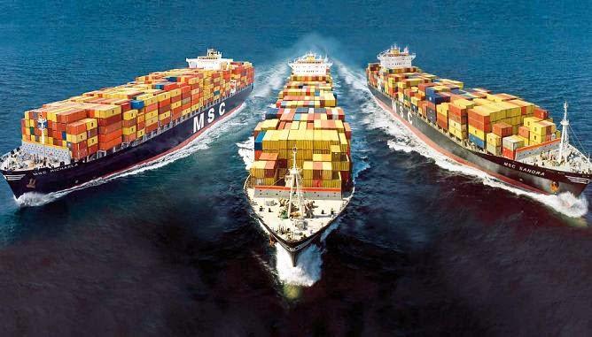Dịch vụ vận chuyển đường biển của Vĩnh Cát Logistics