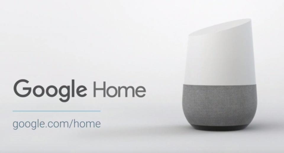 Sản phẩm loa thông minh Google Home