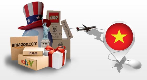Hàng xách tay vận chuyển về Việt Nam