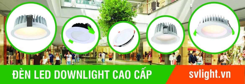 Đèn led âm trần cao cấp được cung cấp bởi cty Svlight