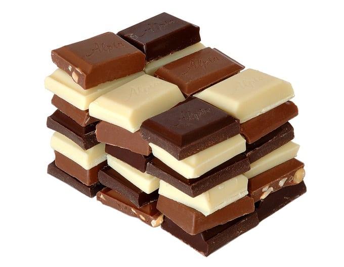 nhập khẩu nguyên khối socola