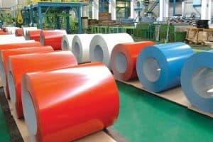 Thủ tục nhập khẩu mặt hàng Tôn màu – COLOR STEEL PLATE