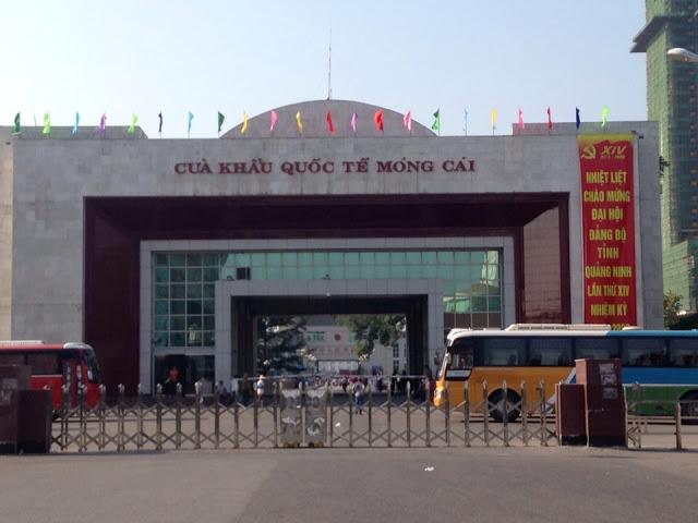 Cửa khẩu nhập khẩu hàng hoá quốc tế