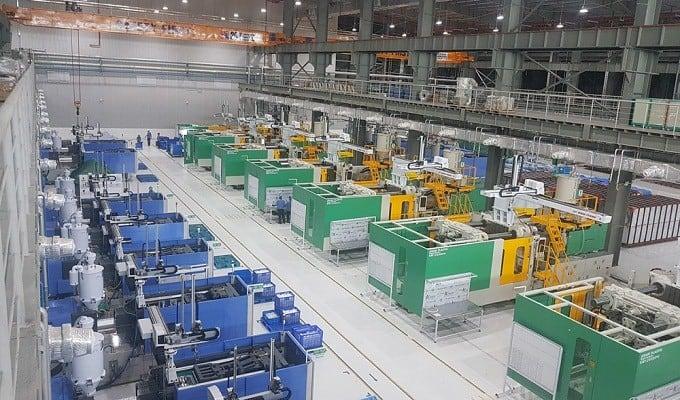thủ tục nhập khẩu máy sản xuất nhựa