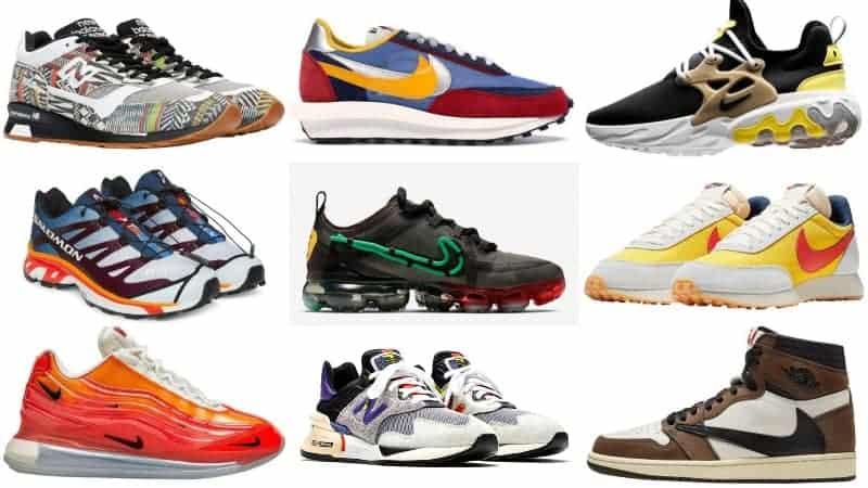 các thương hiệu giày thể thao nổi tiếng