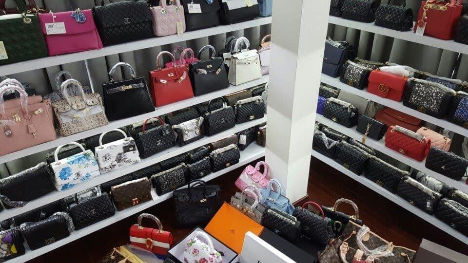 Nhập hàng, bán buôn túi xách Quảng Châu giá rẻ tại Hà Nội