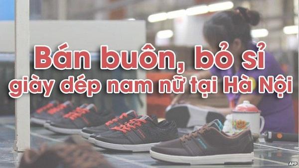 Tổng hợp những địa chỉ lấy sỉ giày dép ở Hà Nội giá rẻ chất lượng