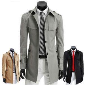 Gợi ý các mẫu áo măng tô nam hợp dáng với các quý ông